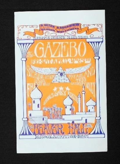 3 Beaver Hall Concert Handbills - Portland, Oregon - - 4