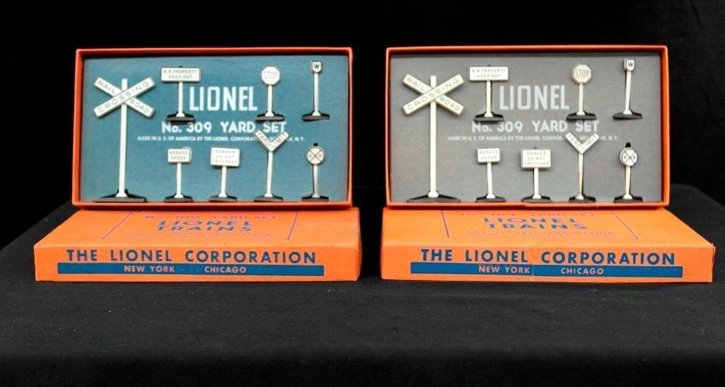 Lionel Trains no. 309 - Yard Set - Lot of 2 Sets -