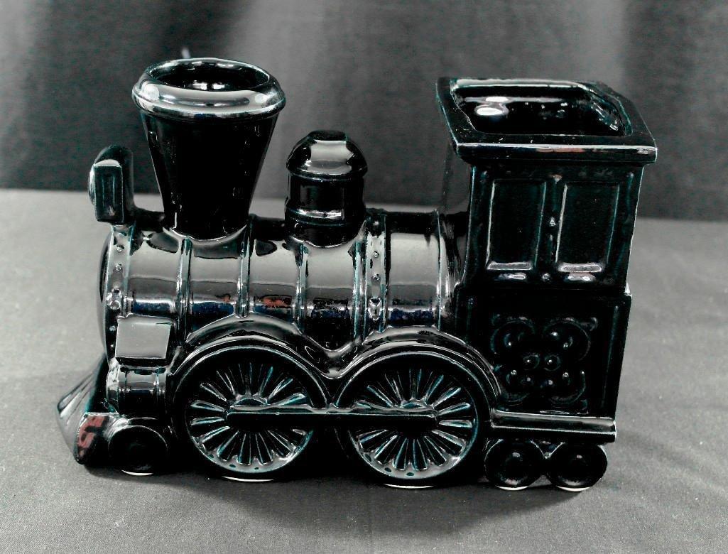 Shawnee Pottery Railroad Train Engine Locomotive