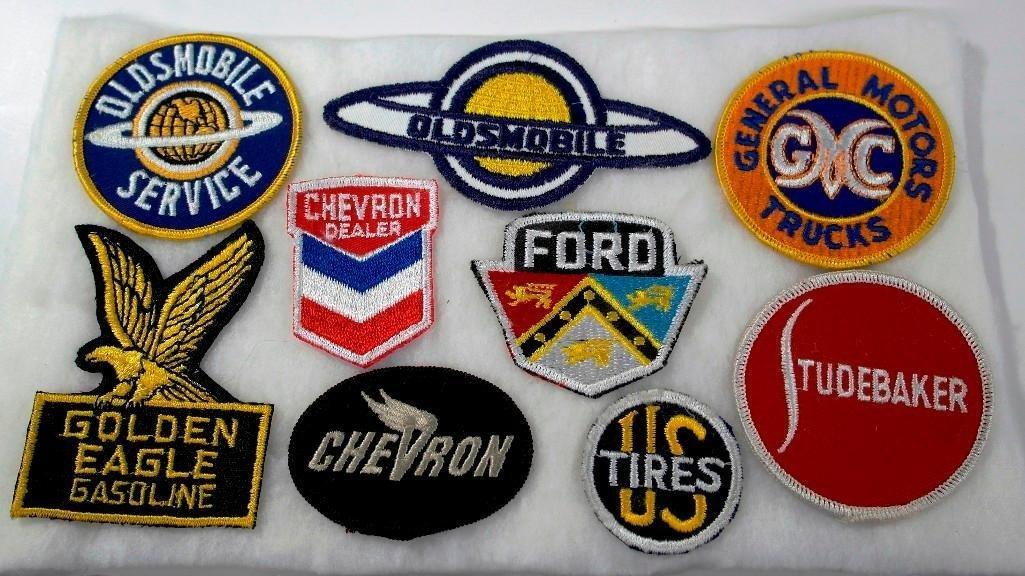 Vintage Automotive and Gasoline Uniform Patches