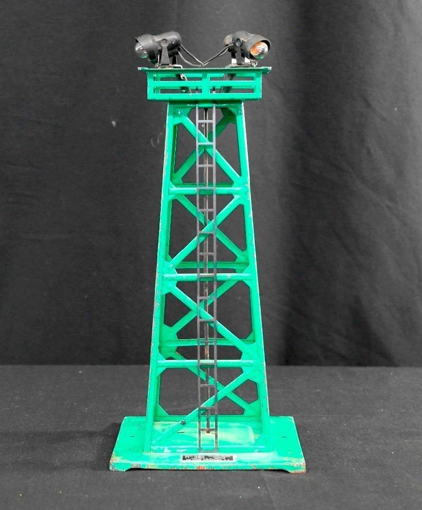 Vintage Lionel Trains no. 395 - Floodlight Tower -