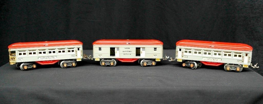 Lionel Trains O-Gauge Set - Nos. 600, 601, 602 -