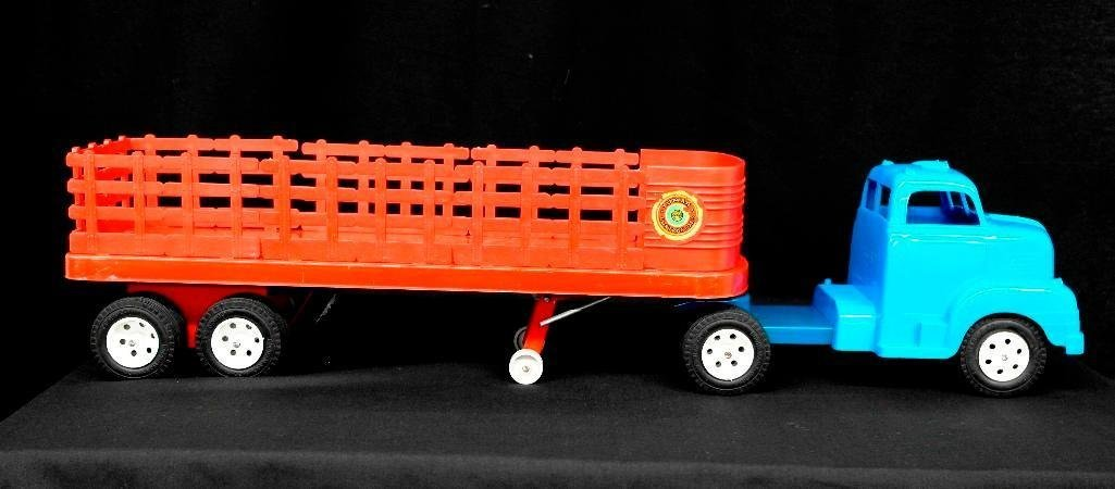 Marx Lumar Contractors Stake Bed Delivery Truck &