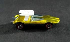 Vintage 1970 Redline Hot Wheels - Swingin Wing - Yellow