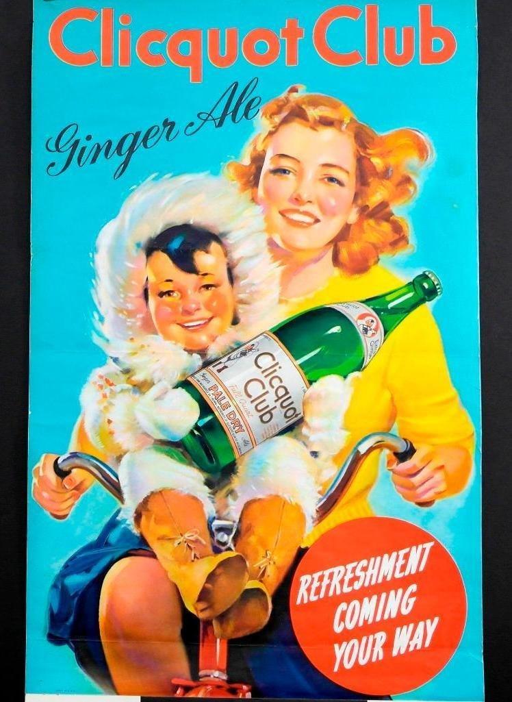 1942 Clicquot Club Soda Calendar - Northern Exposure - 2