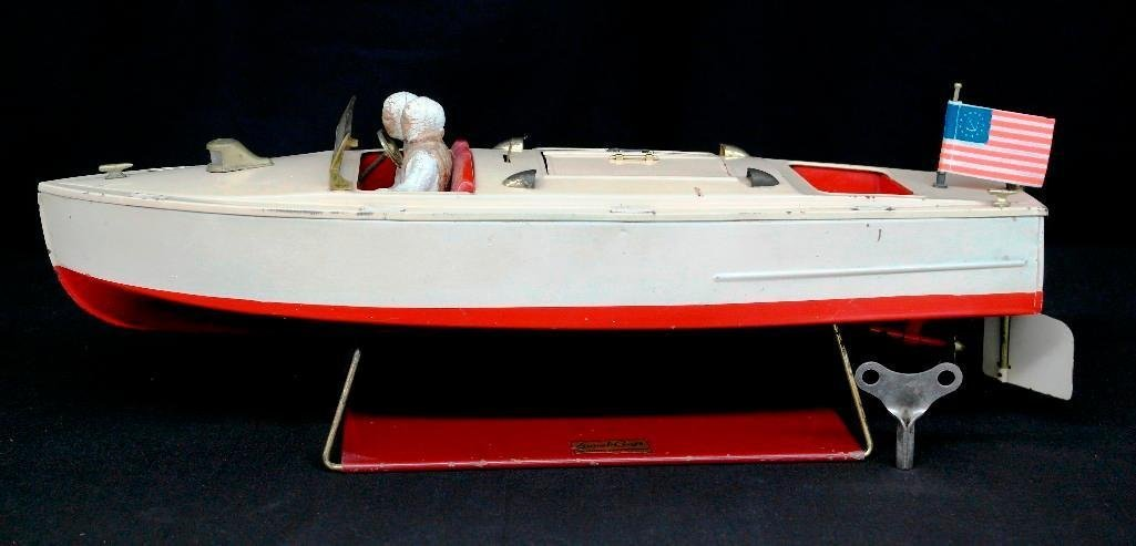 Vintage 1933 Lionel no. 43 - Lionel Craft Pleasure Boat