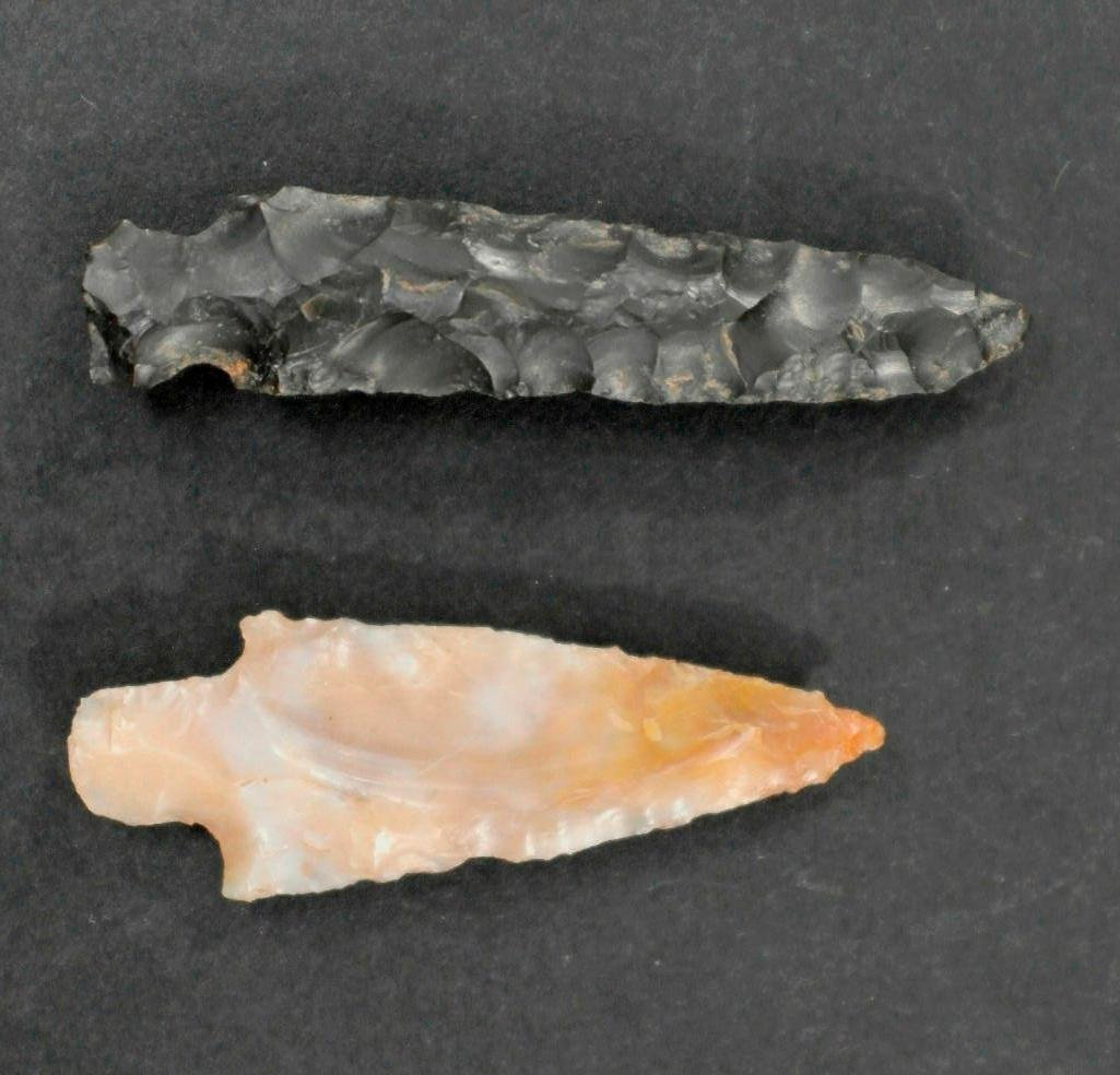 2 Columbia River Arrowheads - Wakemap Mound Site