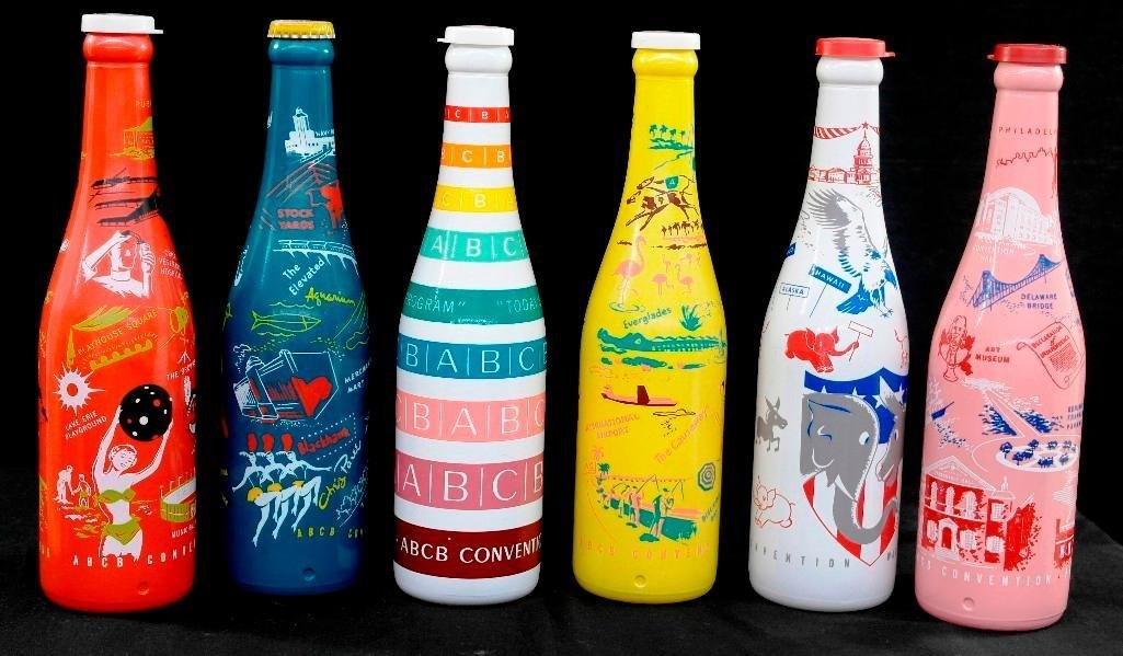 ABCB Convention Soda Bottles 1953 through 1958 - 2