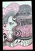 Grateful Dead and Canned Heat Blues Band Poster