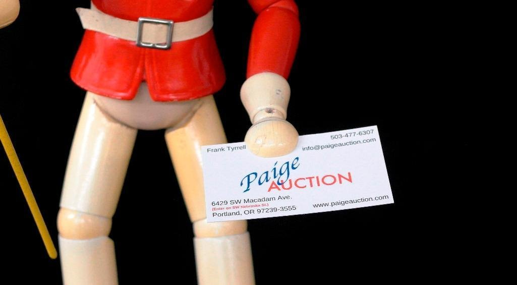 General Electric Wooden Advertising Doll - 5
