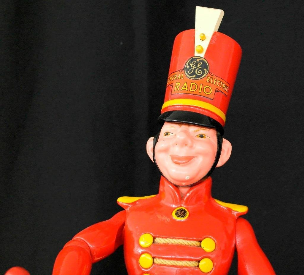 General Electric Wooden Advertising Doll - 6