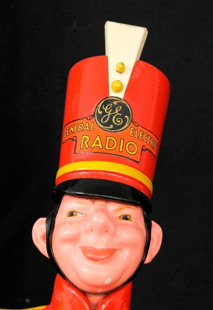 General Electric Wooden Advertising Doll - 7
