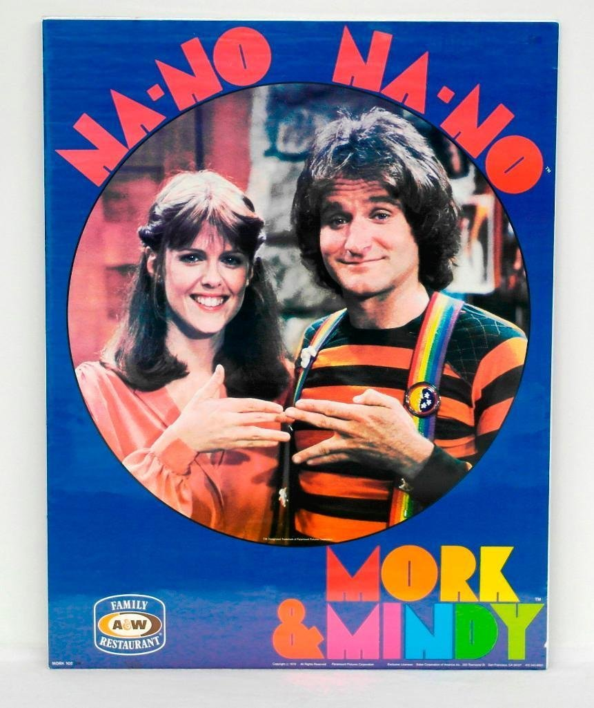 Mork & Mindy 1979 Poster