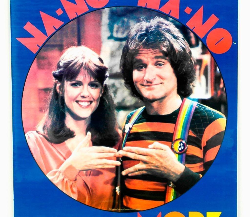 Mork & Mindy 1979 Poster - 2
