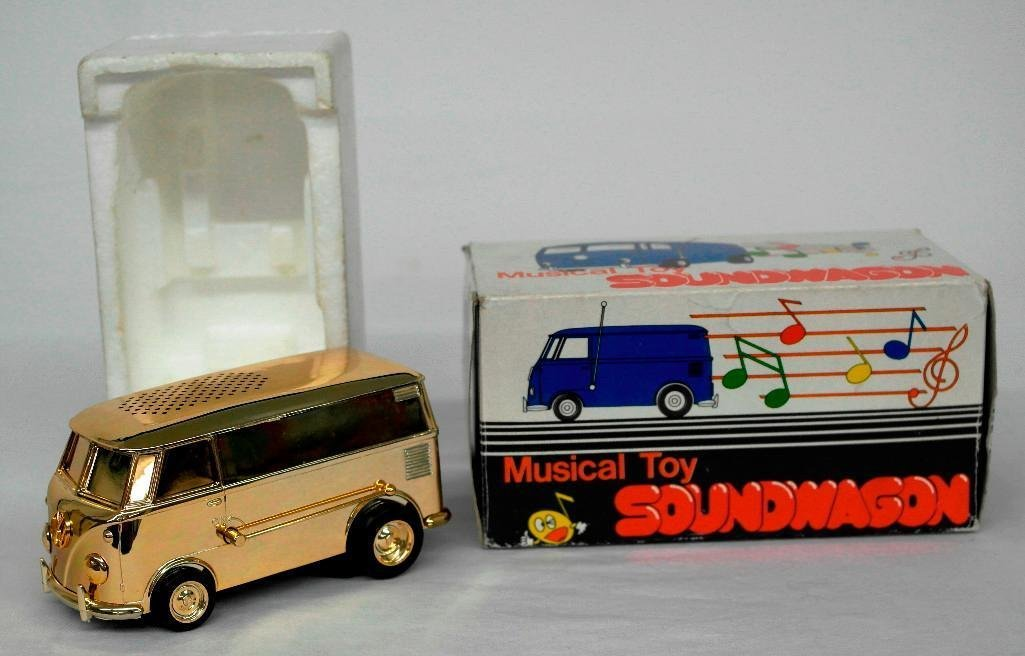 Gold VW Bus Soundwagon Record Player