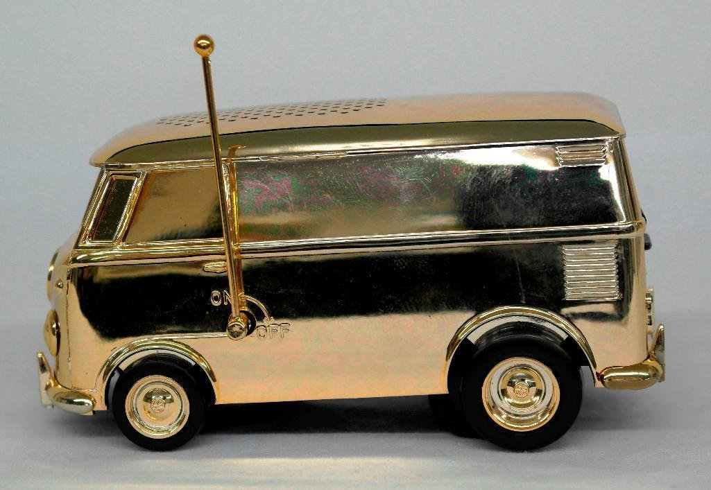 Gold VW Bus Soundwagon Record Player - 2