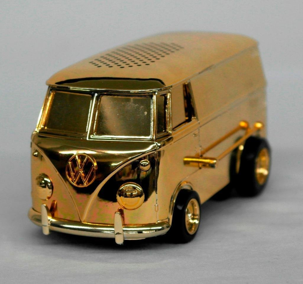 Gold VW Bus Soundwagon Record Player - 3