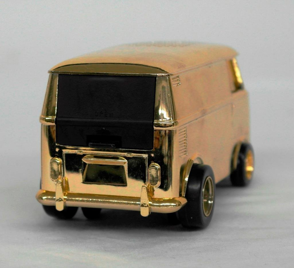 Gold VW Bus Soundwagon Record Player - 5