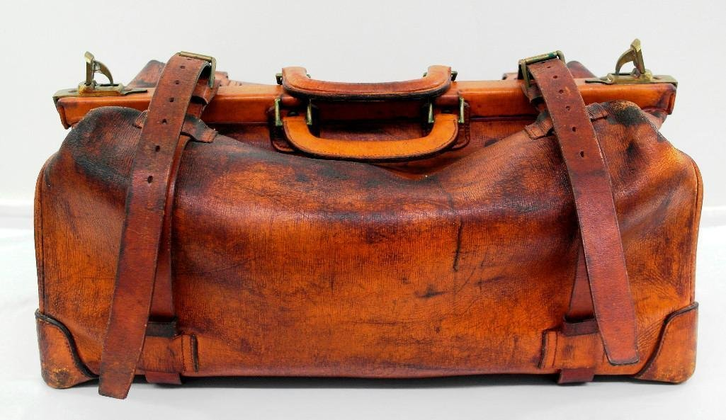 Gladstone Leather Bag by Brooks Brothers