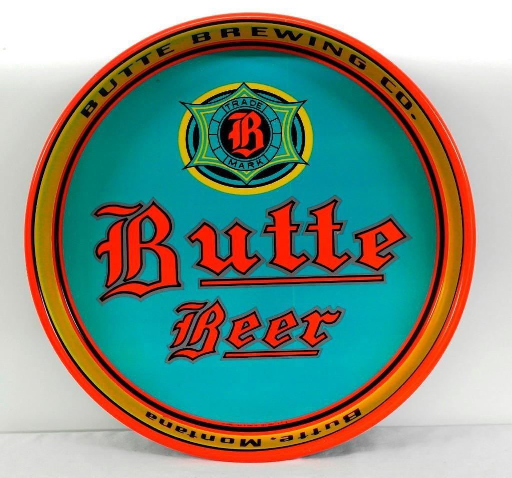 Butte Beer Tray from Butte, Montana