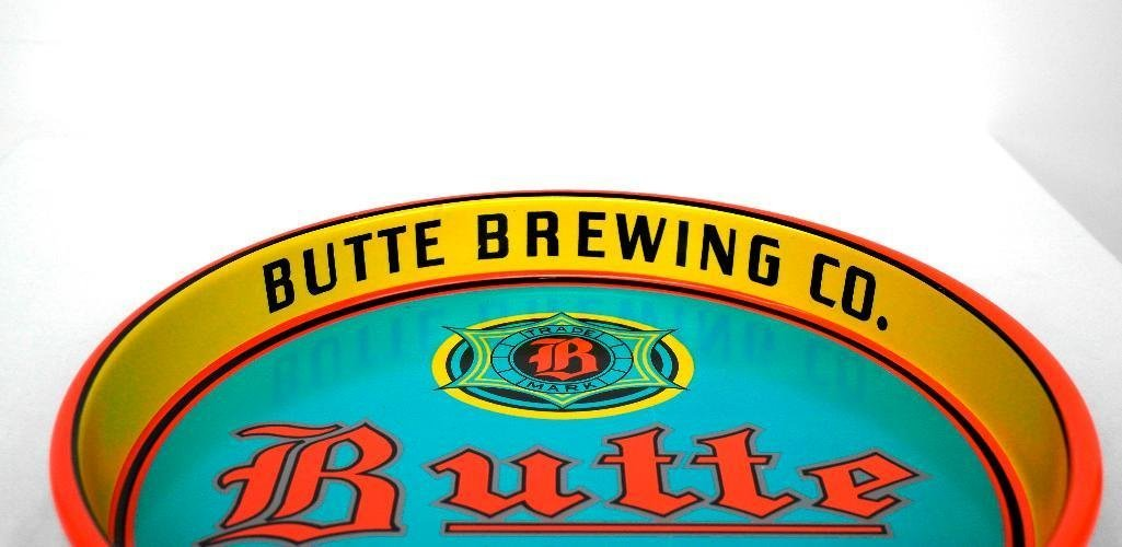 Butte Beer Tray from Butte, Montana - 2