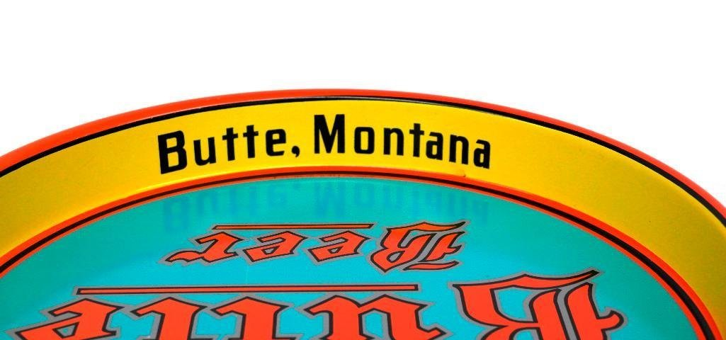 Butte Beer Tray from Butte, Montana - 3