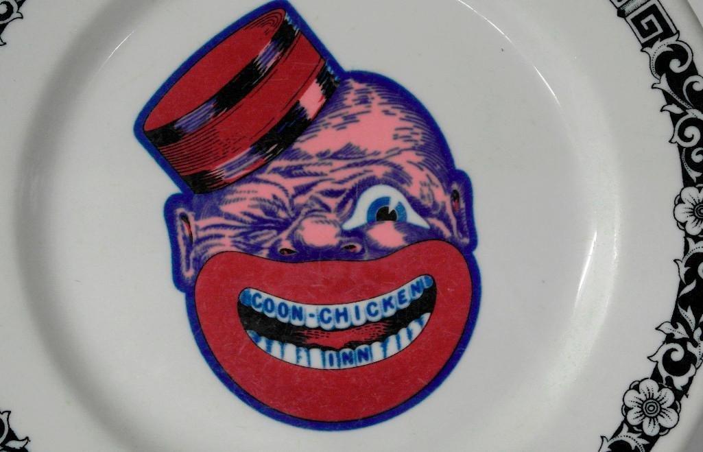 Coon Chicken Inn Plate - 2