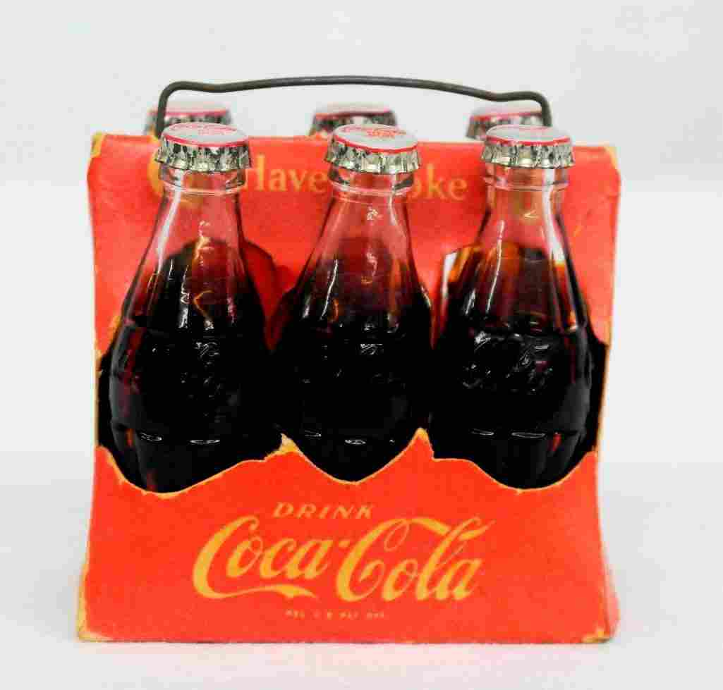 Coca-Cola Miniature 6-Pack Carrier