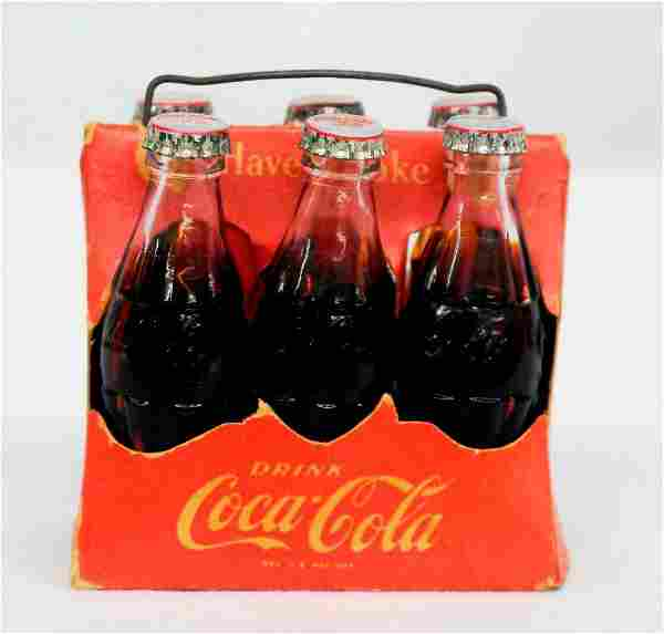 Coca-Cola Miniature 6-Pack Carrier