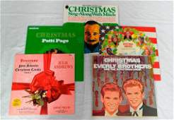 Five Stereo Christmas Albums: Julie Andrews, Everly