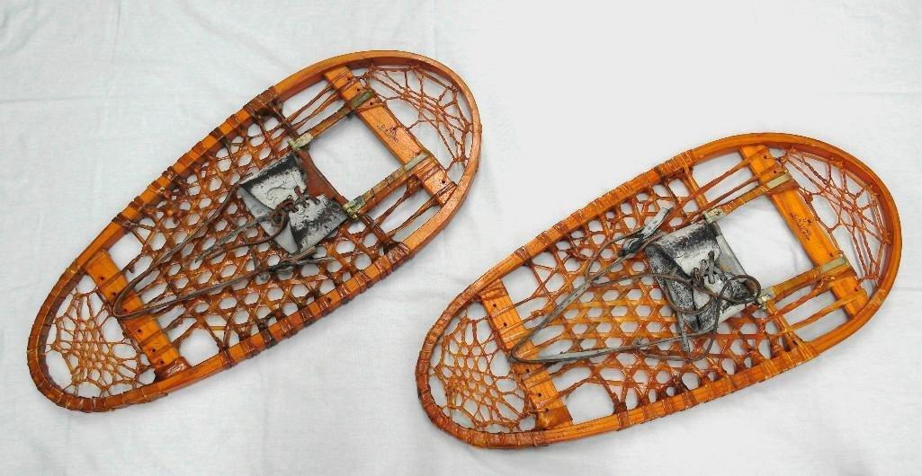 C. A. Lund Bear Paw Snowshoes Circa 1944