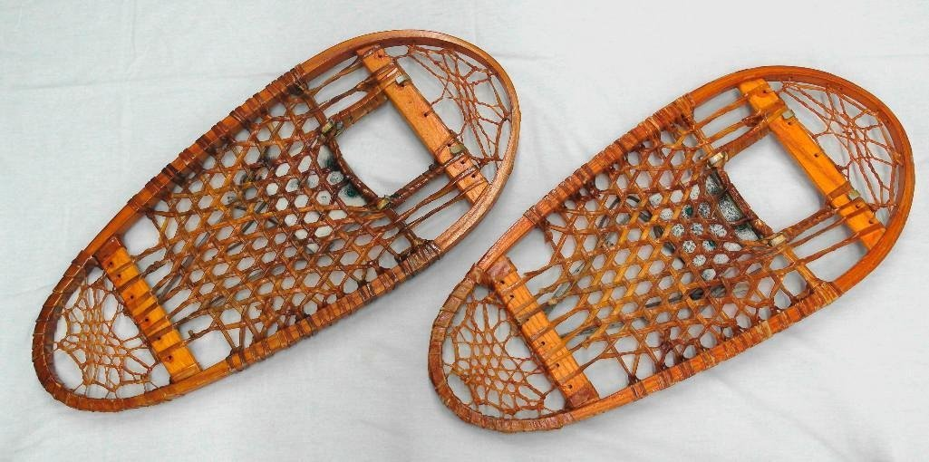 C. A. Lund Bear Paw Snowshoes Circa 1944 - 2