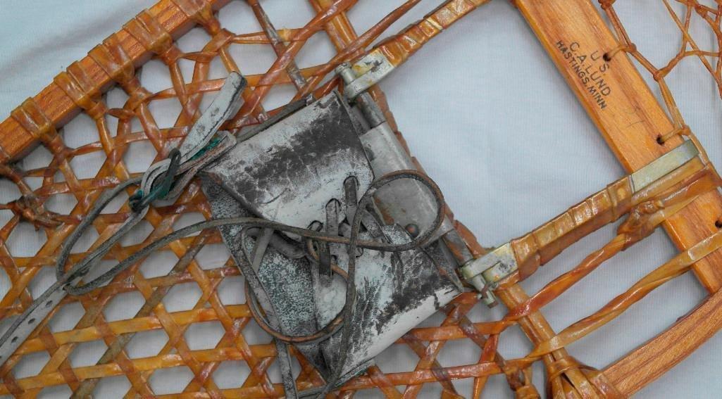 C. A. Lund Bear Paw Snowshoes Circa 1944 - 4