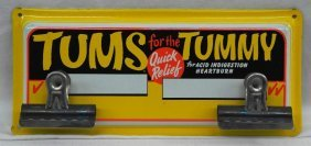 Tums For The Tummy Display Rack