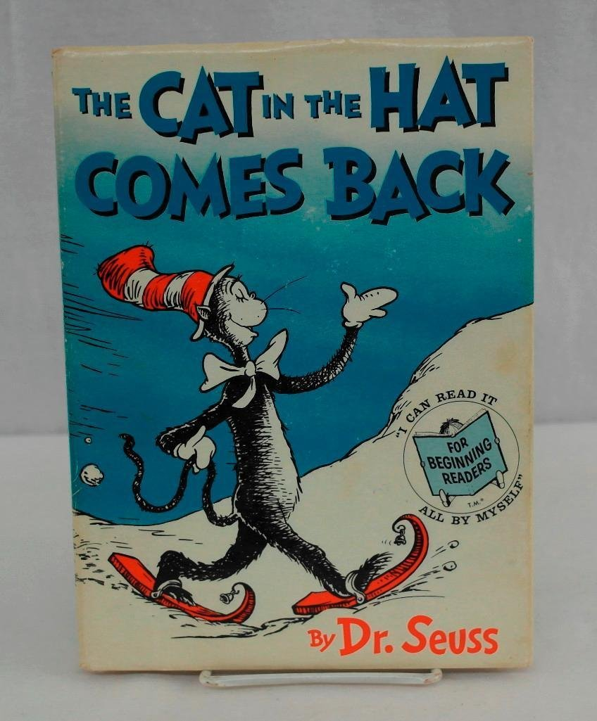 The Cat In The Hat Comes Back by Dr. Seuss - First