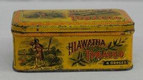 Hiawatha Tobacco 4 Ounces Tin - Vintage