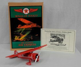 Texaco First Edition Airplane Collector's Coin Bank: