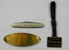 3 Pieces Delaval Cream Separator Advertising Pieces