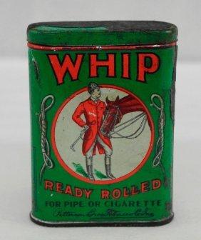 Vintage Whip Tobacco Pocket Tin