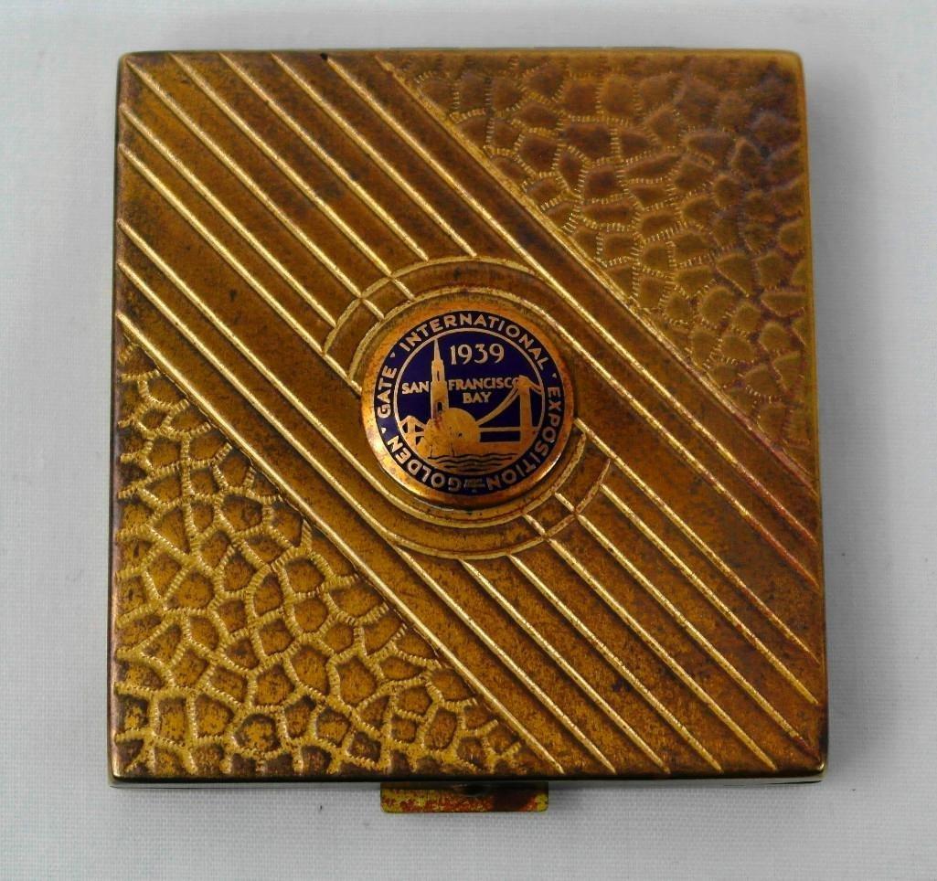 Souvenir Compact From the 1939 Golden Gate Expo