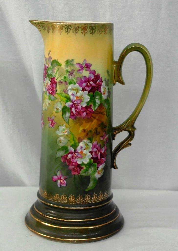 Royal Wettina Vase/Pitcher With Handle, Made in Austria