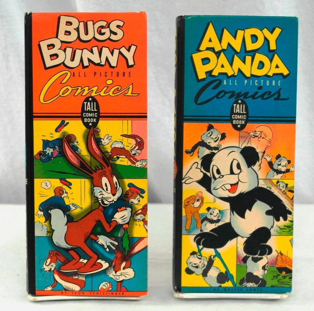 2 Tall Comics All Picture Boks/Andy Panda & Bugs Bunny