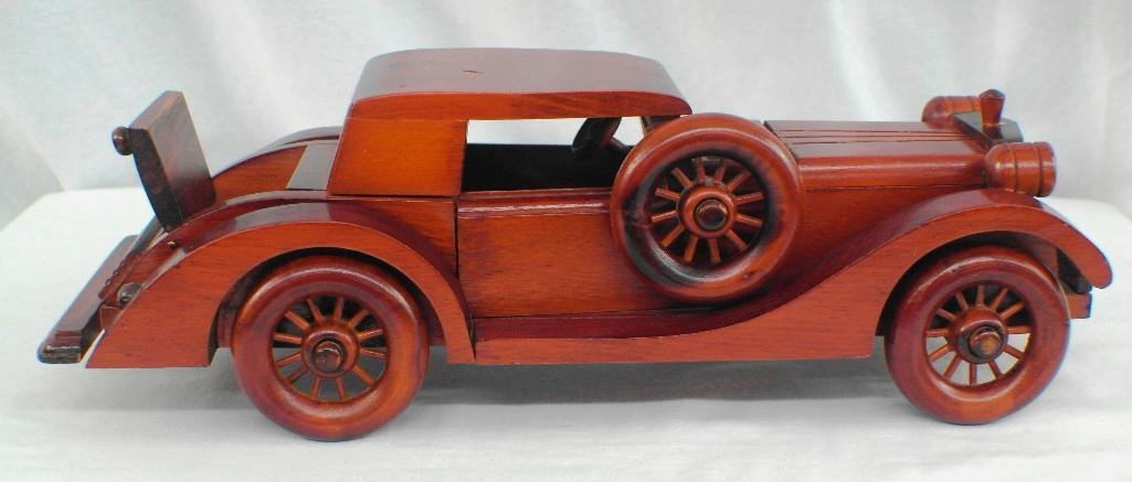1935 Auburn 851 Sports Coupe From Wooden Art Collection