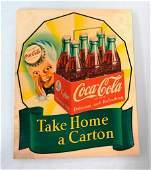 Coca-Cola Vintage Decal Featuring the Sprite Boy