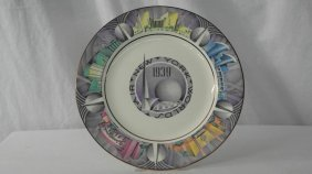 1939 Ny World's Fair Plate - Designed By Charles Murphy