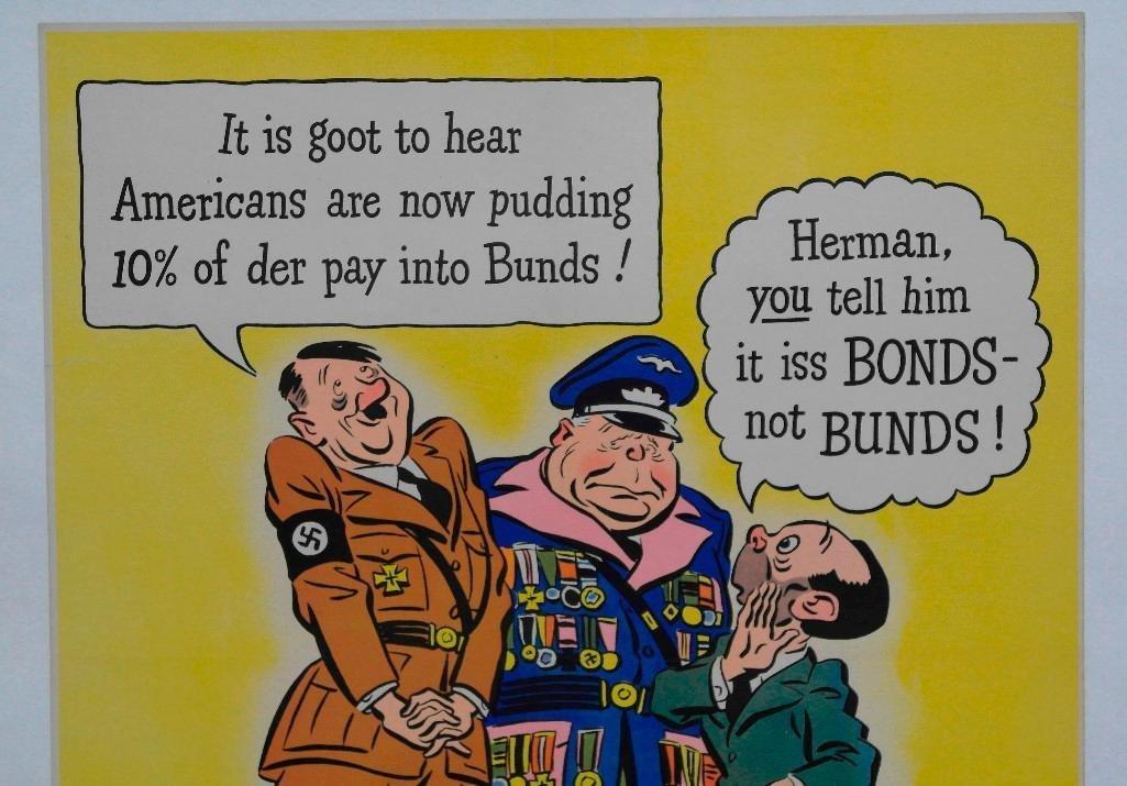 """For Victory"" Buy War Bonds Poster - 2"