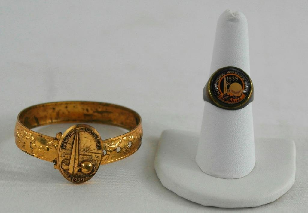 2 New York World's Fair Jewelry Pieces