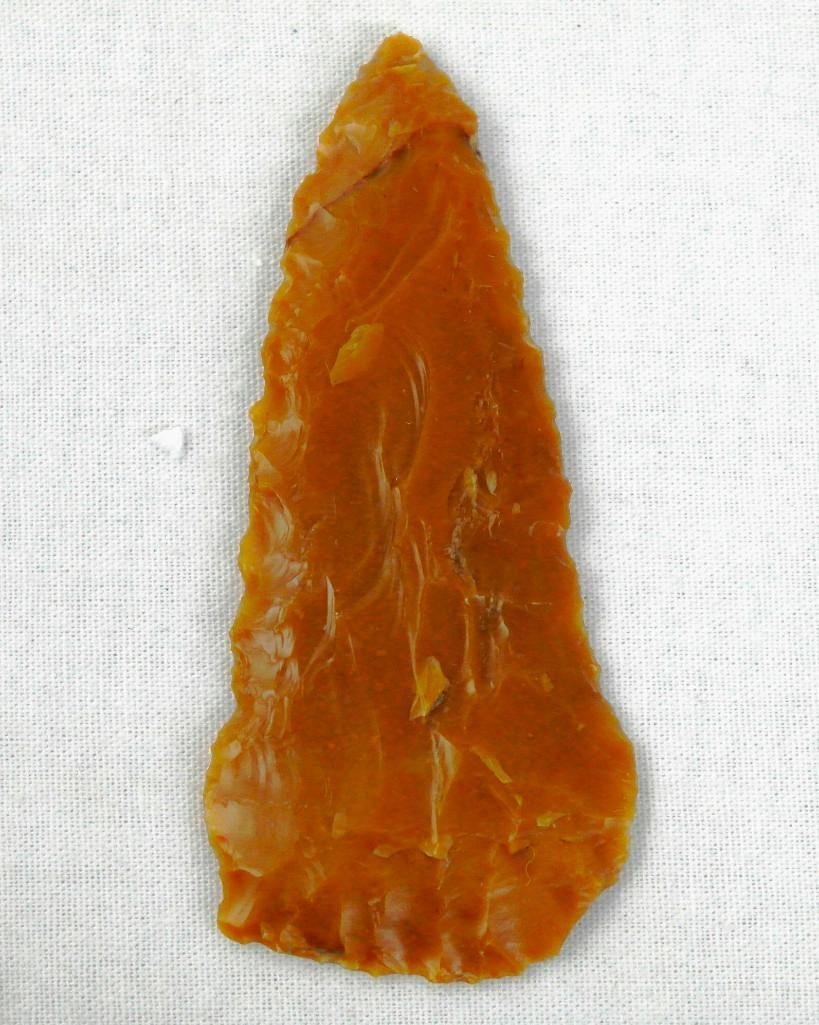 Carmel Agate Pentagonal Knife