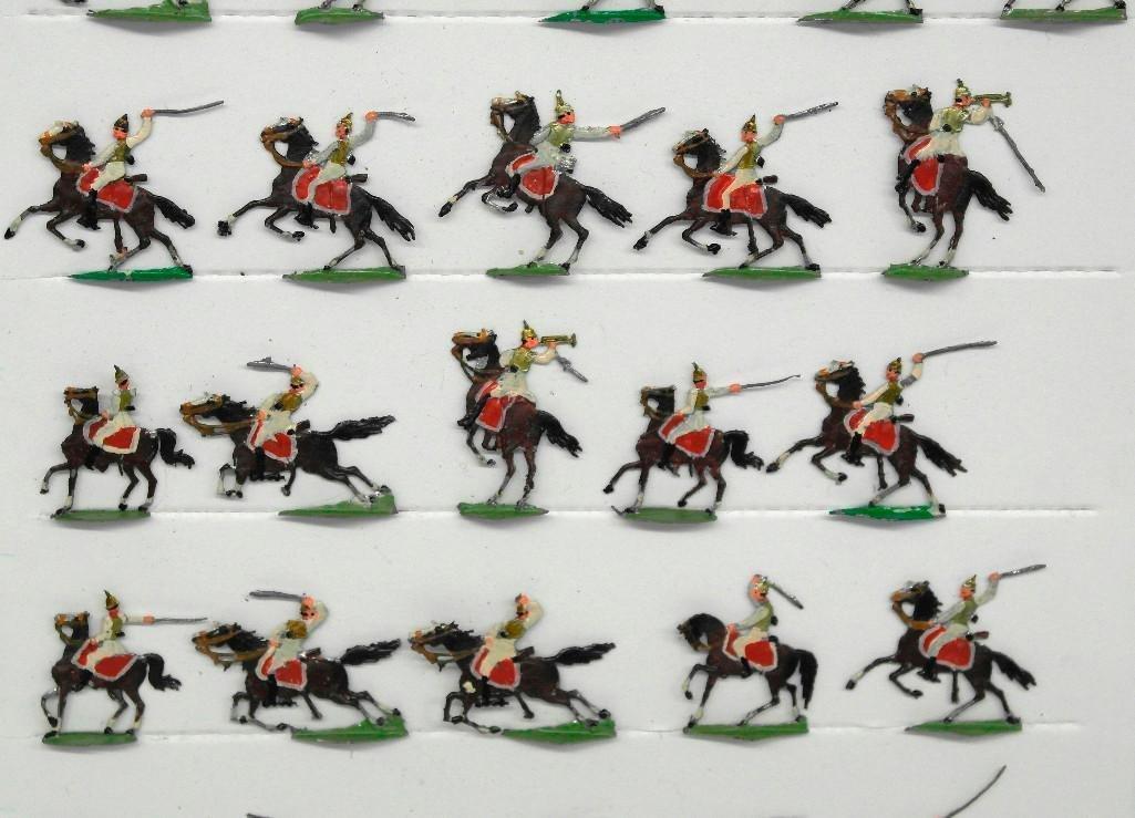 Set of 38 Zinnsoldaten Mounted Figures - 2