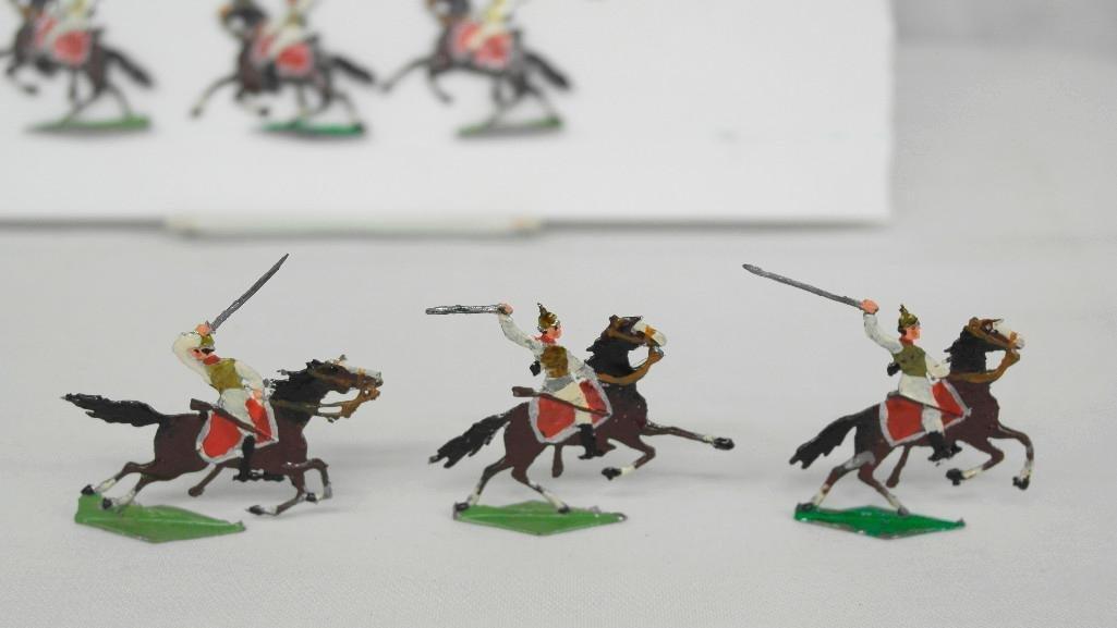 Set of 38 Zinnsoldaten Mounted Figures - 4